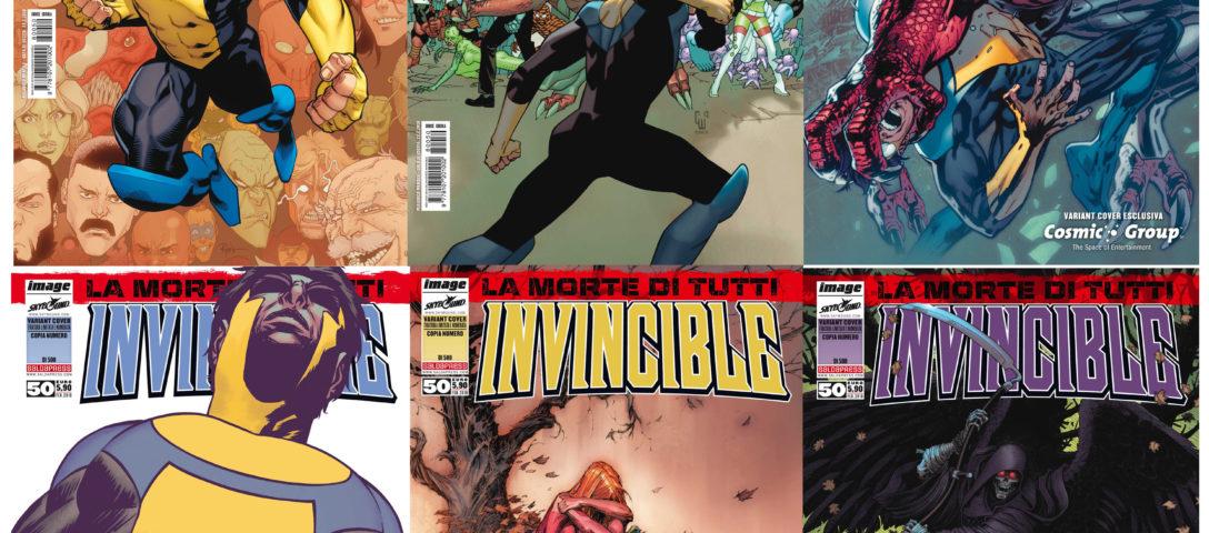 Invincible n. 50 un pacco di varianti
