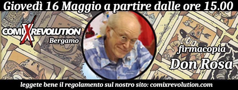 comixrevolution_evento_don_rosa_zio_paperore_bergamo