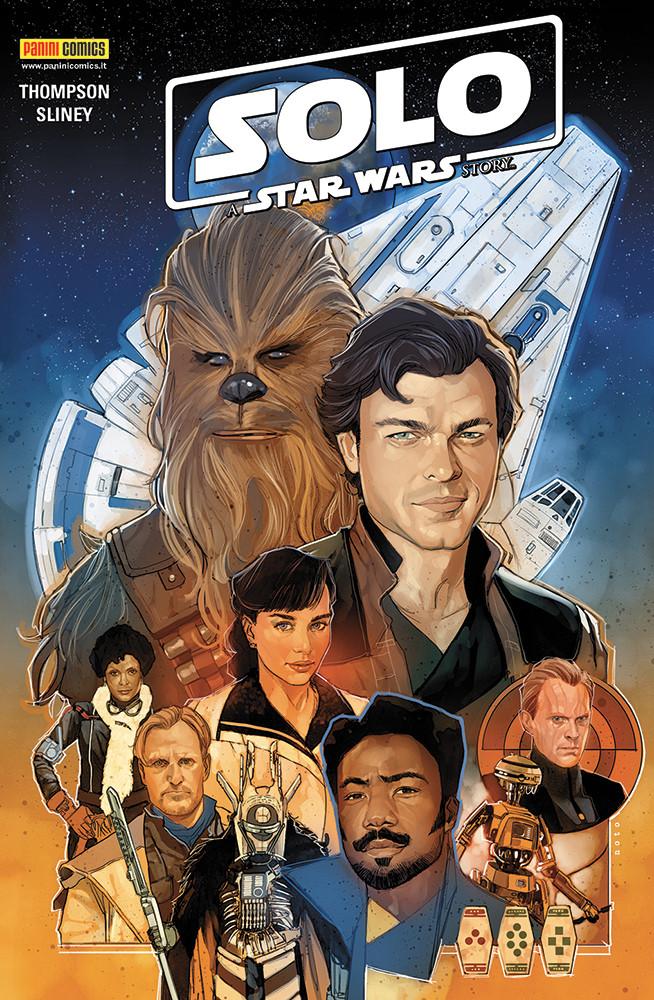 copertina COMIXREVOLUTION-SOLO-A-STAR-WARS-STORY-9788891247384