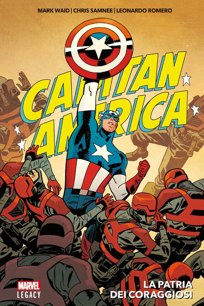 copertina comixrevolution-capitan-america.la.patria-dei-coraggiosi-9788891247117