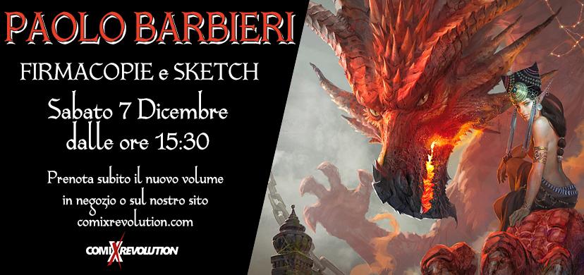 ComiXrevolution Bergamo: Incontro con Paolo Barbieri – STAR DRAGONS