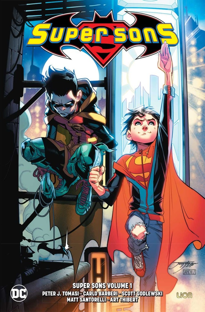 copertina comixrevolution_super_sons_1_9788829305780