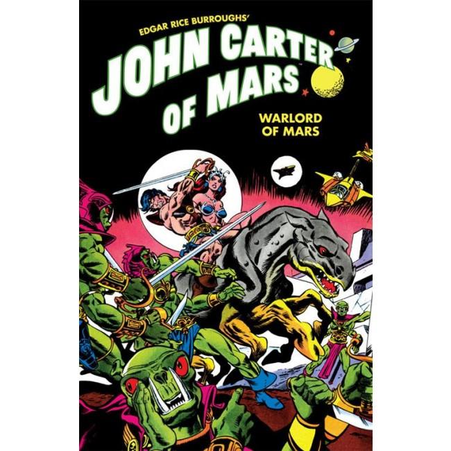 copertina COMIXREVOLUTION_JOHN_CARTER_SIGNORE_DELLA_GUERRA_DI_MARTE_9788869118166