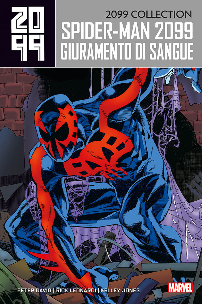 copertina COMIXREVOLUTION_SPIDER-MAN-COLLECTION_2099_9788891273765