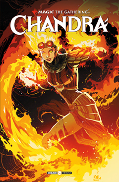 copertina Magic-The-Gathering-1-Chandra-9788869117527