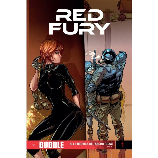 copertina comirevolution_red_fury_1_9788865462799