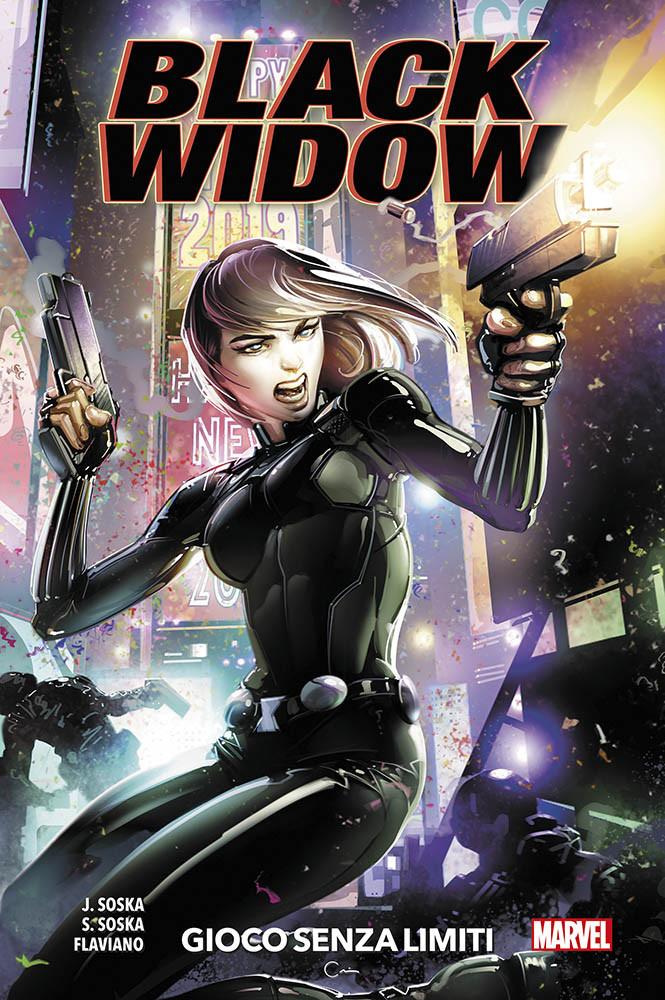 copertina comixrevolution-black-widow-1-gioco-senza-limiti-9788891274359