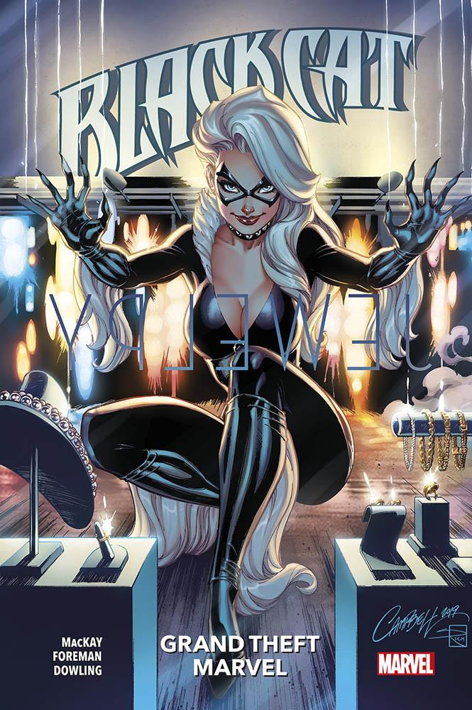 copertina comixrevolution_black_cat_1_grand_thef_marvel_9788891274397