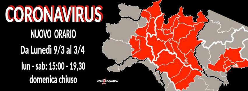Coronavirus Vs Fumetteria