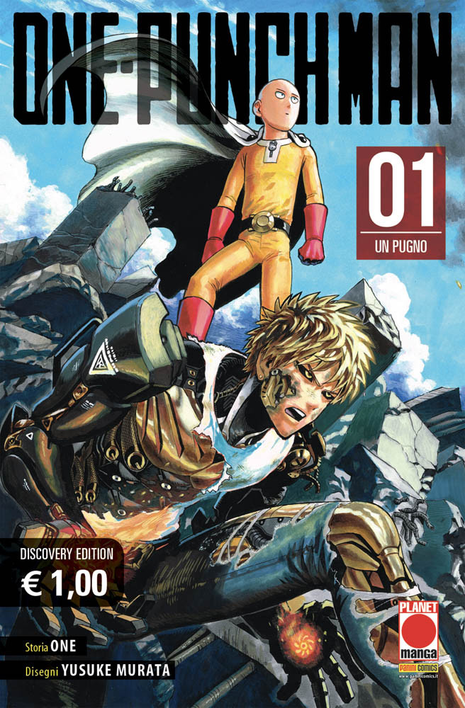 copertina COMIXEVOLUTION-one-punch-man-discovery-edition-1