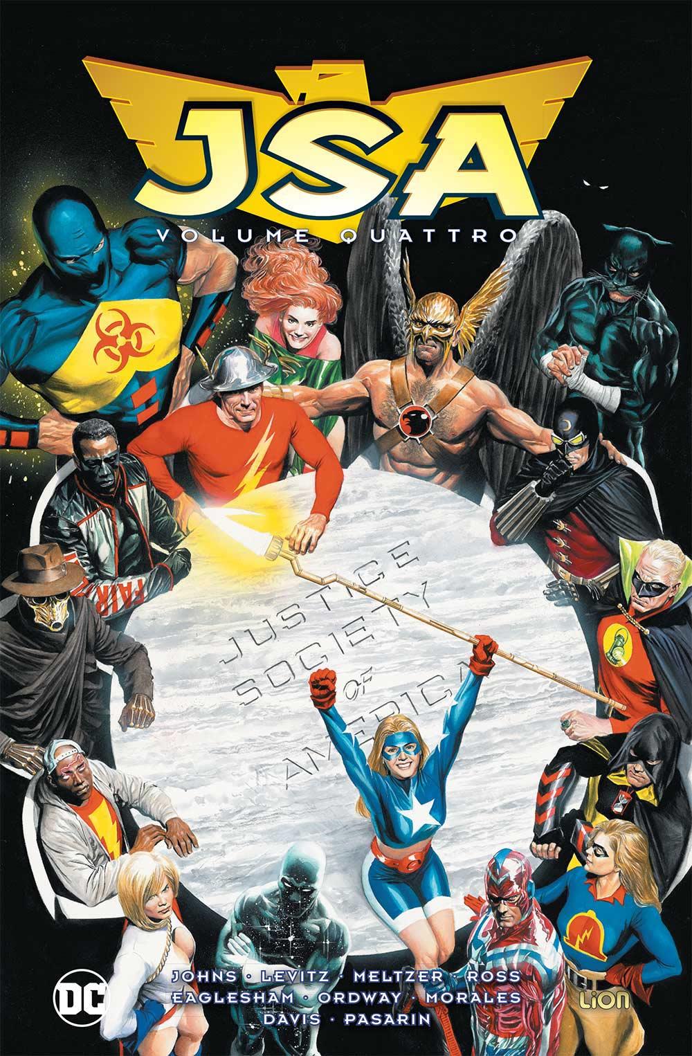 copertina comixrevolution-jsa_4_dc-omnibus_9788829305834