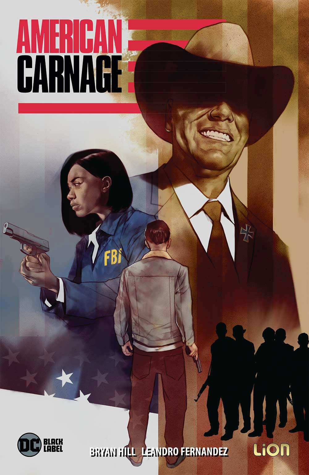 copertina comixrevolution_american_carnage_9788829305889