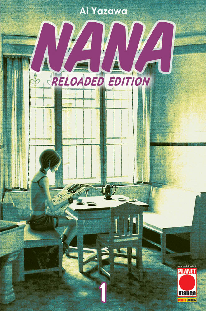 copertina comixrevolution_nana_reload_1_ristampa_9788891293992