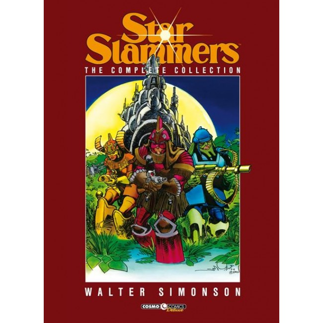 copertina comixrevolution_starslammers__the_complete_collection_9788869116421