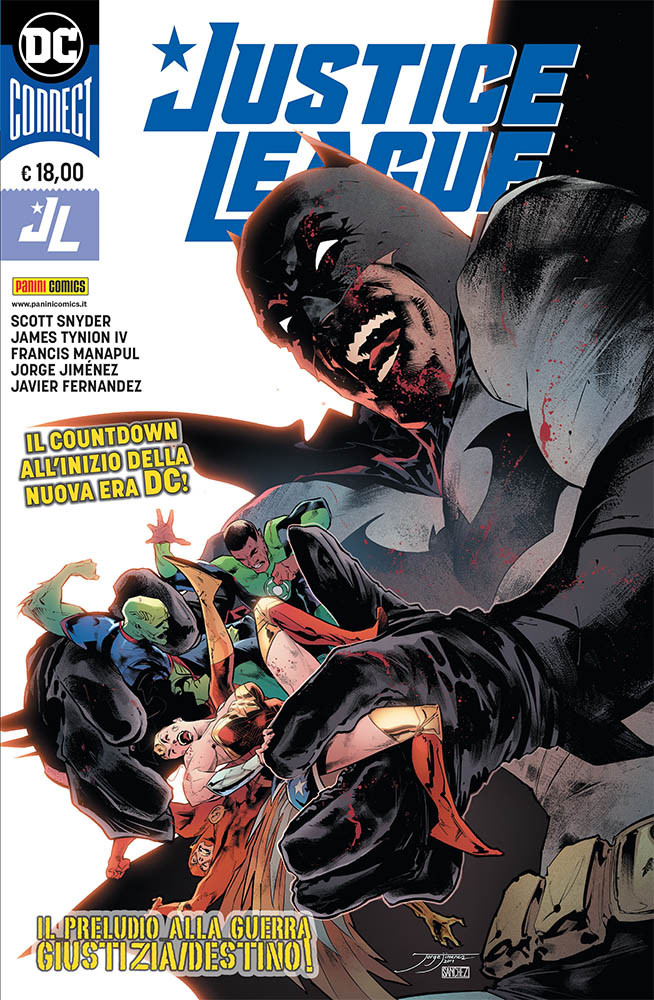 copertina comixrevolutopn_dc_connect_justice_league_9788828731313